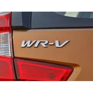 Logo Honda Wrv WR-V WR V Monogram Emblem Chrome Graphics Decals Mono