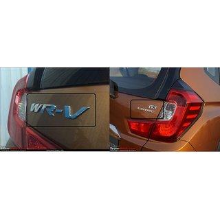 Logo Honda Wrv WR-V WR V VX IDTEC REAR LOGOS Monogram Emblem Chrome Graphics Decals Mono REAR SET OF 3