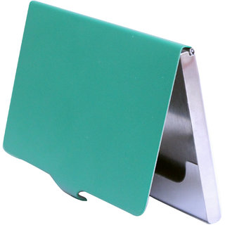 The Boss Steel ATM / Visiting / Credit Card Holder For Men-Women (Synthetic leather/Rexine)