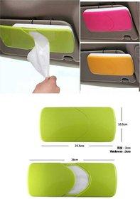 Car Sun Visor Tissue Box  Tissue Holder  Car Accessories Decor  New Case