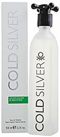 BenettonCold Silver EDT - 100 ml ( For Men )