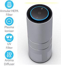 Zyme Air Portable Air Purifier  HEPA, Ionizer, UV Filte