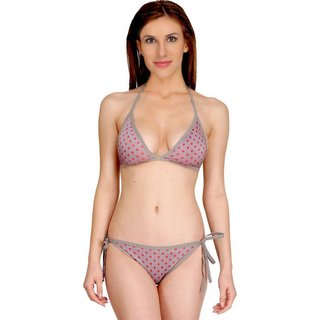 Fashion Comfortz Grey Bikini For Women