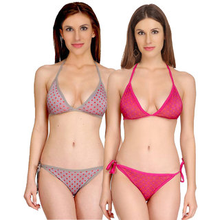 Fashion Comfortz Multicolor Bikini For Women