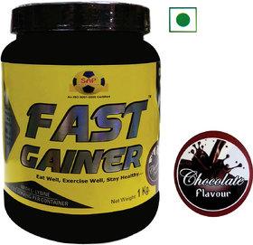 Sap Nutrition Fast Gainer  1Kg Chocolate Flavour