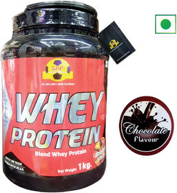 Sap Nutrition Whey Protein 1Kg Chocolate Flavour