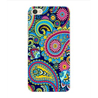 PREMIUM STUFF PRINTED BACK CASE COVER FOR PANASONIC P55 MAX DESIGN 8732