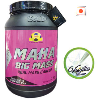Sap Nutrition Maha Big Mass 2kg Vanilla Flavour