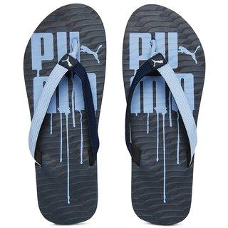 Buy Puma Men Dust Blue Miami V Flip Flops Online   ₹598 from ShopClues c3cb448f9