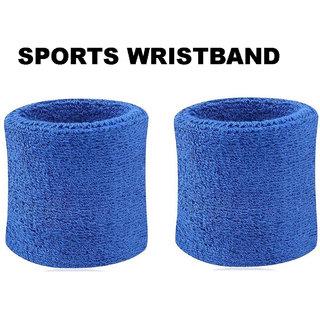 Sports Wristband 1 pair (Blue)