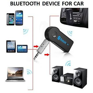 Favourite Deals Wireless 3.5mm Car Bluetooth Music Receiver