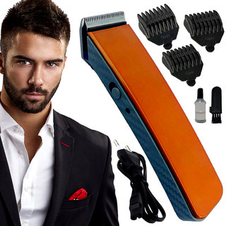 Rechargeable Professional Washable Bread Mustache Hair Clipper Electric Razor Shaver Ultra Trim Hair Trimmer for Men