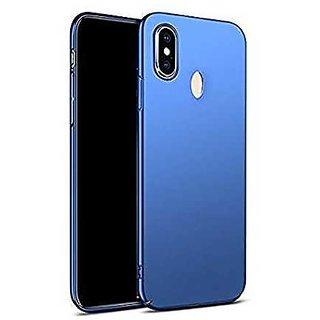 4Cut Matte Finish Rubberised  Hard Back Case Cover For Xiaomi Redmi Y2 - Blue