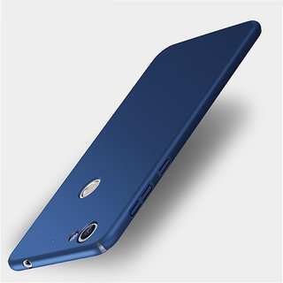 4Cut Matte Finish Rubberised  Hard Back Case Cover For LeEco Letv Le 1s - Blue
