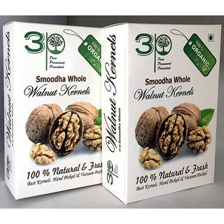 Brown Broken Walnuts (Akhrot)  500 gm