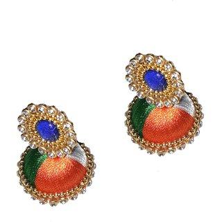 c8e82301b Buy Fashionable Silk Thread earrings for women Girls by shrungarika ...