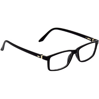 HRINKAR Black Rectangle and Square Bifocal and Single Vision Latest Optical Spectacle Chasama Frame - HFRM-BK-11