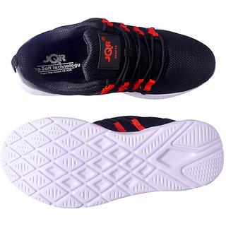 Buy JQR Sports Men's Black Red Running