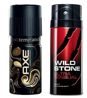 Wild Stone And Axe Deo Deodorant - Set of 2 pcs Combo For Men