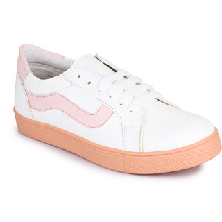 Picktoes Pink Sneakers For Women