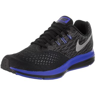 95cf59093a6 Buy Nike Zoom Winflo 4 Men s Black Training Shoes Online - Get 21% Off