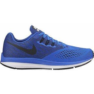 3a93ba55fcc Buy Nike Zoom Winflo 4 Men s Blue Training Shoes Online - Get 21% Off
