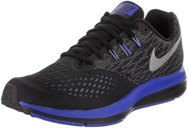 huge discount 07e3f f560a Nike Zoom Winflo 4 Men's Black Training Shoes