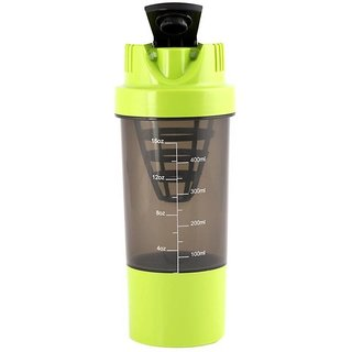 JMO27Deals Cyclone Gym 600 ml Shaker (Green)