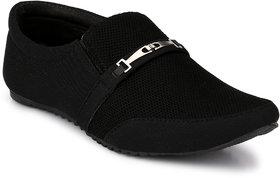 Groofer Men's Black Casual Loafer