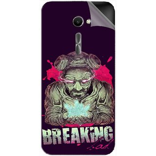 Snooky Printed Vinyl Mobile Skin Sticker For Asus Zenfone 2 Laser ZE500CL