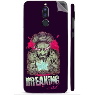 Snooky Printed Vinyl Mobile Skin Sticker For Huawei Honor 9i