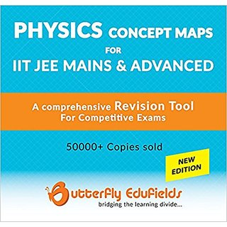 Concept Map Book.Buy Butterfly Fields Physics Concept Map Book For Iit Jee Main
