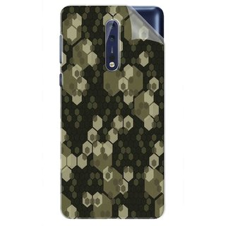 Snooky Printed Vinyl Mobile Skin Sticker For Nokia 9