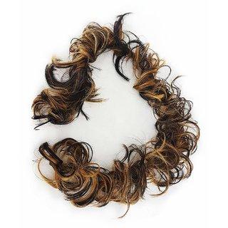GulzarPonytail piece Hair Extension Fashion Hair Accessories For Women  Girls, Golden Brown - Hair Extension For Women