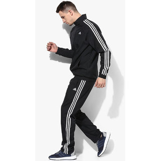 Buy Adidas Men's Black Polyester