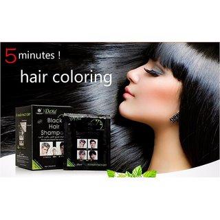 25ml X 30 Sachets - Instant Black Hair Shampoo - Gives you black Hair Everyday