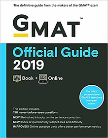 GMAT Official Guide 2019 Book + Online Paperback  2018