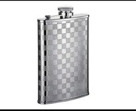 Hip Flask Drinks Wine Whisky Pocket Holder  Bottle Stainless Steel Hip Flask (8oz)