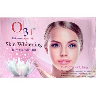 O3 + 24 Skin Whitening fairness facial kit