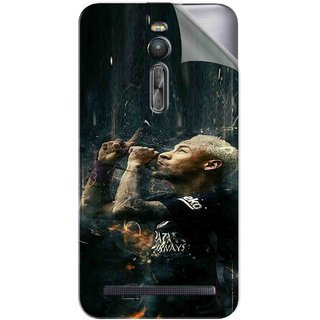 Snooky Printed Vinyl Mobile Skin Sticker For Asus Zenfone 2