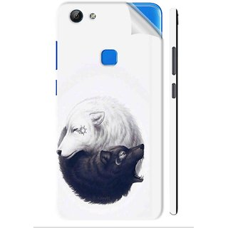 Snooky Printed Vinyl Mobile Skin Sticker For VivoV7