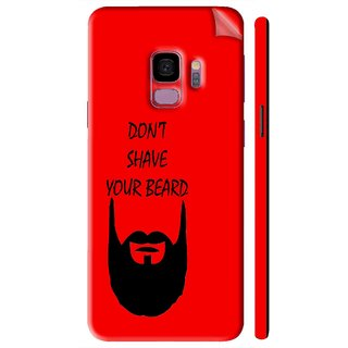 Snooky Printed Vinyl Mobile Skin Sticker For Samsung Galaxy S9 Plus