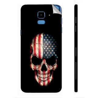 Snooky Printed Vinyl Mobile Skin Sticker For Samsung Galaxy J6