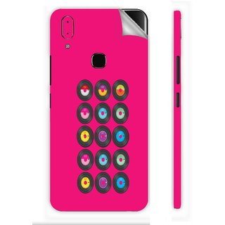 Snooky Printed Vinyl Mobile Skin Sticker For Vivo V9 youth