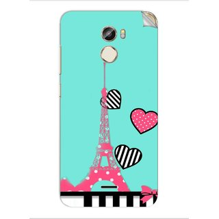 Snooky Printed Vinyl Mobile Skin Sticker For Gionee X1