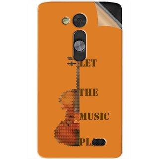 Snooky Printed Vinyl Mobile Skin Sticker For LG L Fino