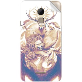 Snooky Printed Vinyl Mobile Skin Sticker For Coolpad Note 3 Plus