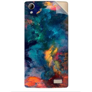 Snooky Printed Vinyl Mobile Skin Sticker For Huawei Honor 9 Lite