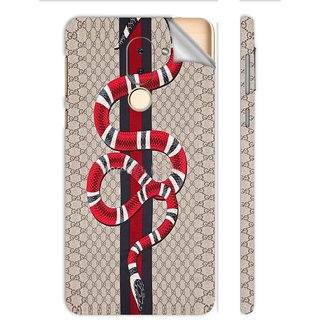 Snooky Printed Vinyl Mobile Skin Sticker For Huawei Honor 6X