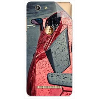Snooky Printed Vinyl Mobile Skin Sticker For Gionee F103 Pro